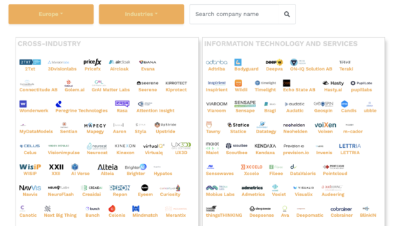 European AI Startup Landscape