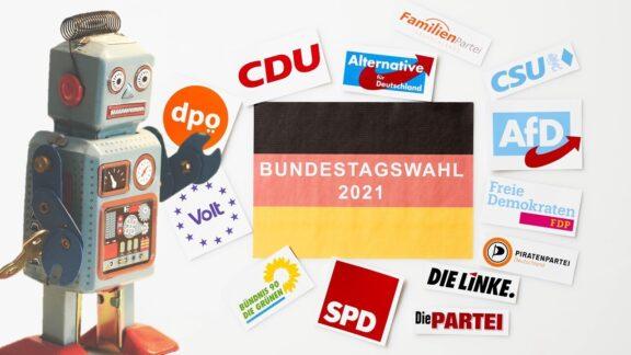 KI Bundestagswahl Cover