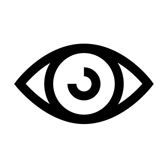 Das abgebildete Auge steht für die KI Vision